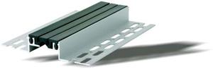 Профил за дилатационна фуга за под за предварителен монтаж  - прав или ъглов